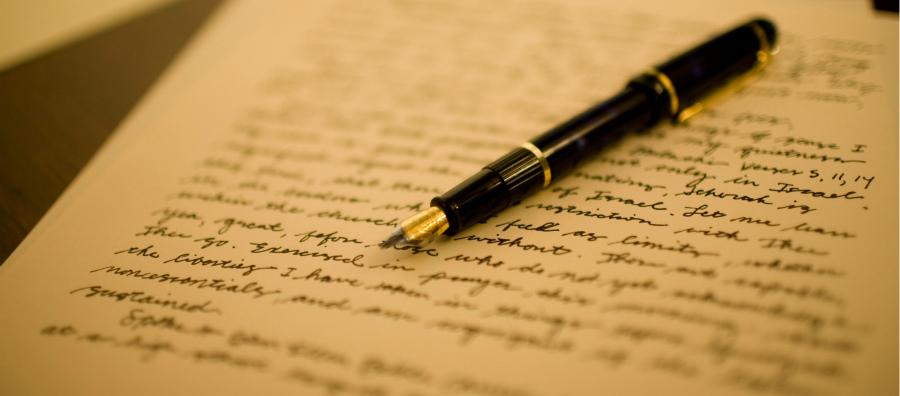 Письмо на немецком языке - образец