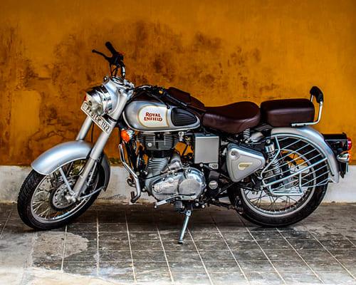 Мотоцикл на немецком языке