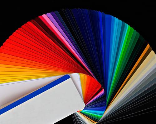 Немецкие слова на тему цвета, оттенки, палитра