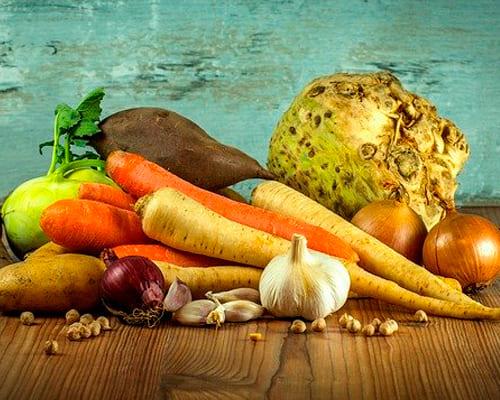Немецкие слова на тему овощи, виды овощей