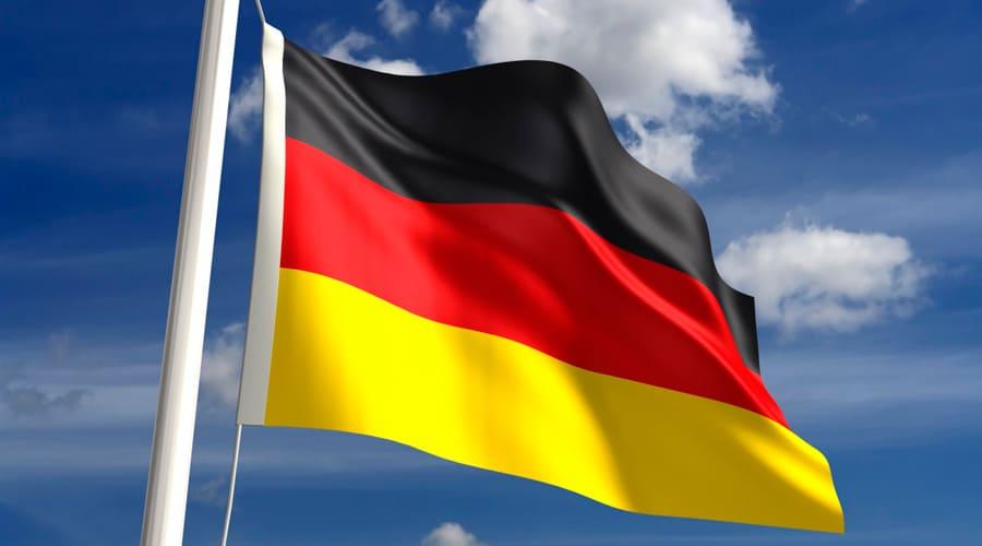 Современный флаг Германии