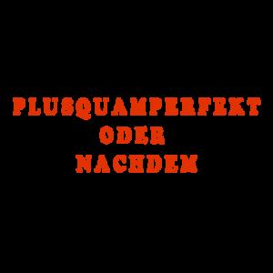 Plusquamperfekt и nachdem
