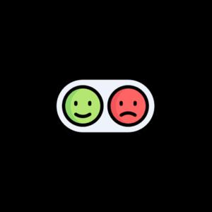 Выражение позитивного и негативного следствия